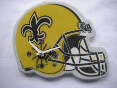 NFL New Orleans Saints Helmet Clock