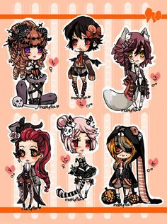 ChibiAdopts-11: CLOSED by mostlyniceAdopts.deviantart.com on @DeviantArt