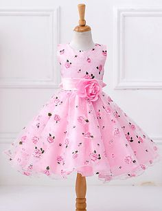 Flower Girls Dresses Kids Sleeveless Princess Dress For is cheap, come to NewChic and buy cute flower girl dresses now! Toddler Pageant Dresses, Dresses Kids Girl, Girls Party Dress, Baby Dress, Girl Outfits, Party Dresses, Baby Tutu Dresses, Prom Gowns, Toddler Dress