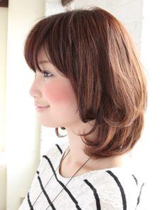 ナチュラルミディアム|HOULe|(ウル)|美容室・美容院 - ヘアカタログLucri(ラクリィ)|最新のヘアスタイル・髪型情報を紹介