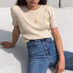 dinner date outfits Look Fashion, Korean Fashion, Fashion Outfits, Fashion Teenage School, Zalando Outfit, Korean Blouse, Vintage Outfits, Mode Inspiration, Cute Casual Outfits