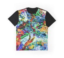 Colour Explosion Grafik T-Shirt