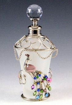 This perfume bottle is beautiful! :D