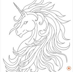 Unicorn with Wings Coloring Page Best Of Unicorn Tattoo by On Deviantart Unicorn Outline, Unicorn Wings, Unicorn Drawing, Unicorn Head, Unicorn Art, Horse Drawings, Art Drawings, Coloring Books, Coloring Pages