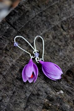Hey, I found this really awesome Etsy listing at https://www.etsy.com/listing/285398947/silver-925-crocuses-earrings-choose-the