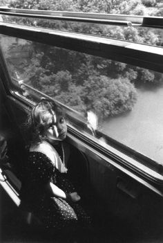 Ferdinando Scianna '91 Italy. Train journey between Brindisi—Rome