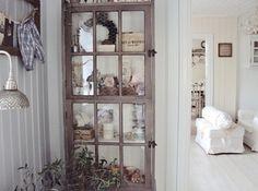 window made into storage?