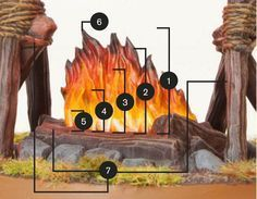 In this tutorial I& explain step by step how I paint fire. The camp fire model is from the Hobbit miniature range and is included in . Fire Painting, Painting Tips, Painting Techniques, Warhammer Paint, Warhammer Fantasy, Warhammer 40k Miniatures, Game Workshop, Fantasy Miniatures, Mini Paintings