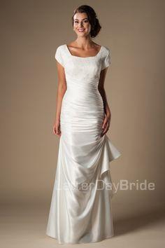 Modest Wedding Dress Tamara Front