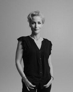 Gillian Anderson. Debe ser del grupo de fotos de Grazia Magazine