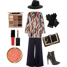 Calico EcoFur by keepfashion92 on Polyvore featuring moda, Unreal Fur, Hobbs, Rebecca Minkoff, Ted Baker, Sole Society, Stila, Milani and Smashbox