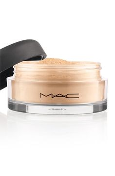 Welcome to my Make-Up purse #MAC Mineralize Loose Powder!     I have this product in #Dark - it gives a smooth finish and it stays on for a long time. I used to use Bare Escentuals in Golden Tan Matte. Both have SPF15 in them. I guess the only difference is the product size. - @girlalamode