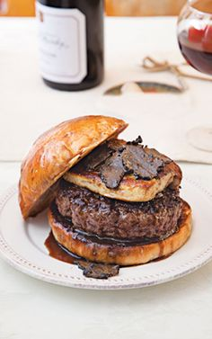 Rossini Burger: This burger, created by chef Hubert Keller, is an adaptation of the French dish known as tournedos rossini: filet mignon with foie gras and truffles.