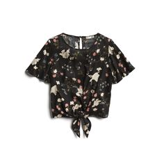 Stitch Fix Spring Stylist Picks: tied up floral top