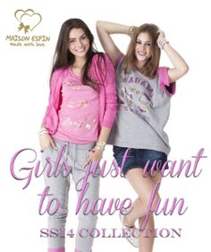 HAve fun with Maison Espin's collection!  #preview #ss14 #collection #lovely #totallook #gymstyle #madewithlove