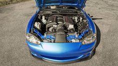 Flyin Miata Mazda MX-5 V8 - A V8 Powered Miata is a Small Viper - Road & Track