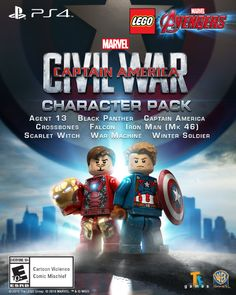Se lanza el nuevo video LEGO Marvel's Avengers de Super Héroes del recién estrenado paquete de Marvel's Captain America: Civil War.