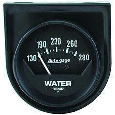 Auto Meter 2361 Autogage Mechanical Water Temperature Gauge >>> You can find more details by visiting the image link.