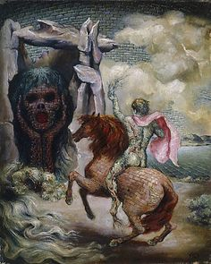 """James Gleeson """"The Oracle"""" 1948 Australian Painters, Australian Artists, Creepy Old Pictures, Save Our Souls, Henry Thomas, Art Society, Modern Artists, Surreal Art, Mythology"""
