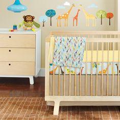 Amazon.com: Skip Hop Complete Sheet 4 Piece Crib Bedding Sets, Giraffe Safari: Baby