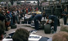 BMW F1 TURBO ENGINE NELSON PIQUET PITS 1984 BRITISH GRAND PRIX GP PHOTOGRAPH | eBay