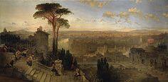 Rome at Sunset: Scottish National Gallery Edinburgh