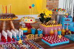 Festa a Caminho: Aniversário de 3 anos do Theo - Vintage Circus
