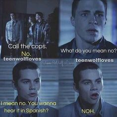 Stiles and his sarcasm