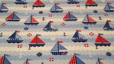 Jersey Boote blau von Webers-Naehzauber auf DaWanda.com