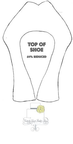 Part 1 Of Platform Shoe Template I used this template to make a Louboutin Platform shoe. Originally used a size 10 shoe to make the...