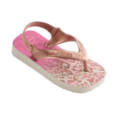 6ed84991279da Havaianas Baby Chic White Golden Blush Thongs. Baby got style in our new  season