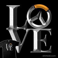 Overlove #gaming #jozvoz #love #overwatch #typographic #videogame