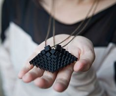 """"""" Toronto-based Hot Pop Factory, it makes the ability to produce affordable and unique jewelry , all from the comforts of their own home. Architecture school graduates Bi-Ying Miao and Matthew Compeau began their collaboration and Hot Pop Factory was born with its first collection, Stratigraphia."""".Join the 3D Printing Conversation: http://www.fuelyourproductdesign.com/"""