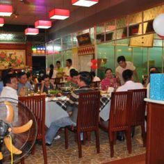 local restaurant in Chau Doc . more details at http://www.chaudoctravel.com/2014/01/lien-phat-restaurant/