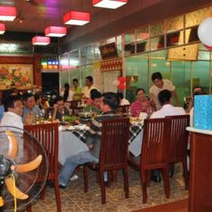 local restaurant in Chau Doc . more details at http://www.chaudoctravel.com/2014/01/lien-phat-restaurant/