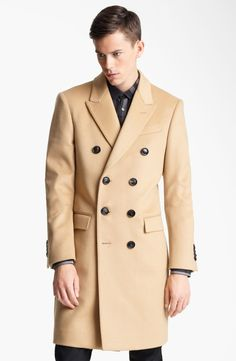 Burberry London Wool & Cashmere Long Coat by nordstrom