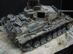 Panzerkampfwagen III 1/35 Scale Model Diorama