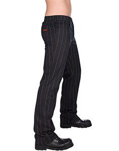 Aderlass Jeans Steampunk Pin Stripe Black-Brown (Gr