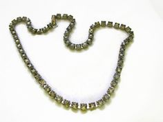Graying rhinestone choker 18 inches with hook closure. Rhinestone Choker, Beaded Necklace, Steampunk, 18th, Chokers, Sparkle, Closure, Awesome, Etsy