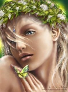 Inspired by the purity and beauty of the Elves...