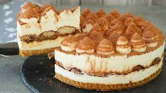 aa-1-e1557308156577 Tiramisu Dessert, Tiramisu Cheesecake, Cheesecake Recipes, Dessert Simple, Food Cakes, Cupcake Cakes, Cupcakes, Italian Recipes, Desserts