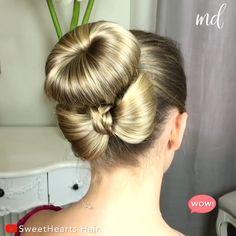 Curly Hair Styles, Natural Hair Styles, Hair Upstyles, Hair Videos, Braided Hairstyles, Easy Hairstyle, Style Hairstyle, Hairstyles 2018, Medium Hairstyles