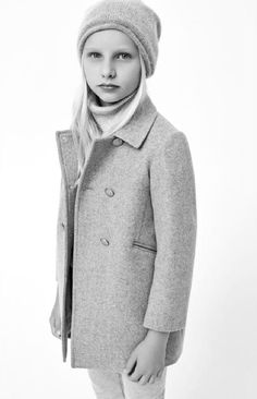 Zara Little Girls Coat