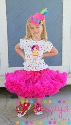 cute idea for a Lalaloopsy party :)