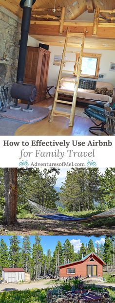 Tips and tricks for knowing how to effectively use Airbnb for family travel adventures, whether you're traveling with kids, traveling for work, wanting a more relaxing stay, or looking to have the experience of a lifetime!