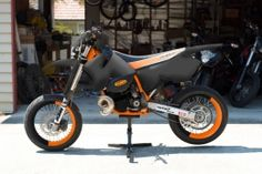 KTM 380 EXC Motorcycle by mugget http://www.bikebuilds.net/ktm-380-exc-build-by-mugget