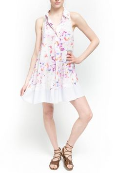 DONNA DRESS from Walter Baker. Walter Baker Spring 2015 Collection Donna dress. 100% Polyester Light Hibiscus. $198