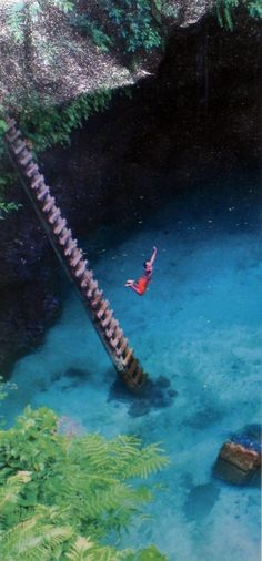 Sua Ocean Trench, Samoa - Click image to find more Travel Pinterest pins