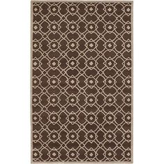 @Overstock - The geometric pattern on this contemporary brown wool rug is sure to please the eye in any room. Hand tufted, this neutral-colored rug blends right in with most décor styles. The three foot by five foot rug conveniently fits in large or small areas.http://www.overstock.com/Home-Garden/Hand-tufted-Glamorous-Brown-Wool-Rug-33-x-53/5651777/product.html?CID=214117 $119.99