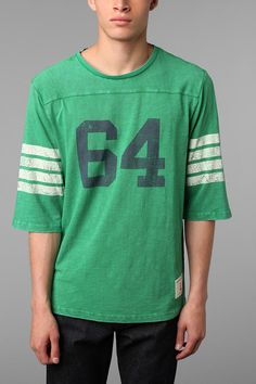 Champion for UO 3/4-Sleeve Football Jersey #urbanoutfitters #champion